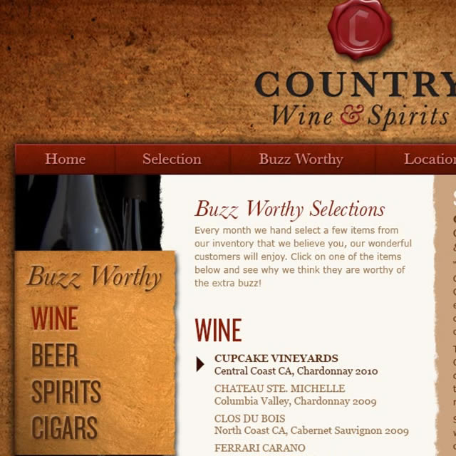 Country Wine & Spirits